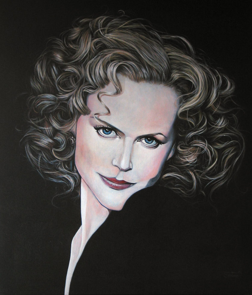Gemälde Nicole Kidman