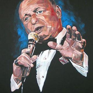 Gemälde Frank Sinatra