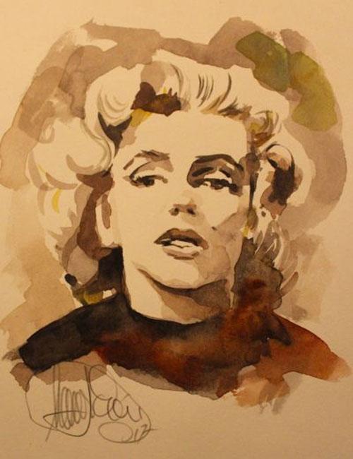 Portrait von Marilyn Monroe