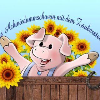 Das Achwiedummschwein mit dem Zauberstein