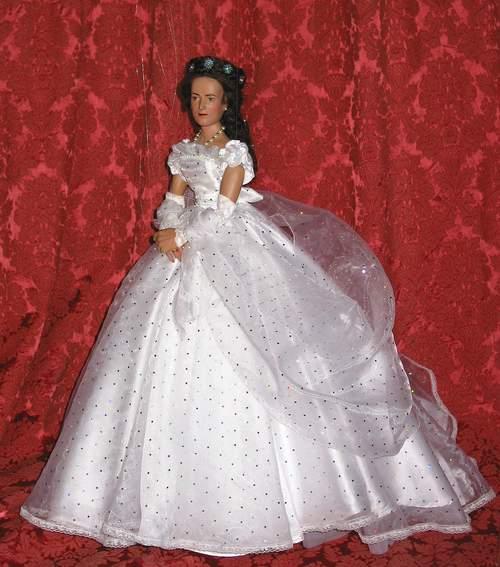 Marionette Kaiserin Sisi