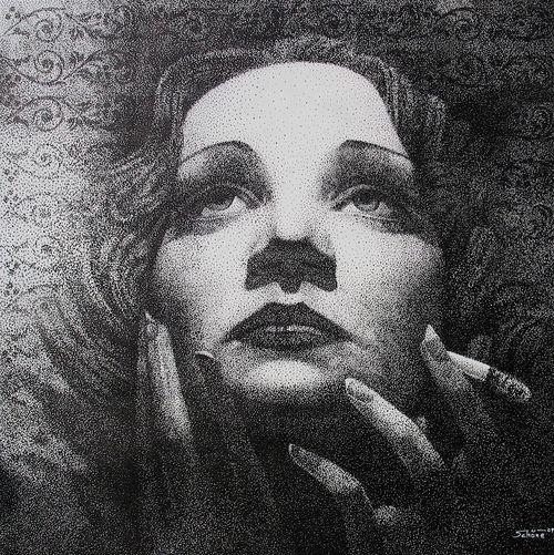 """Porträt """"Marlene Dietrich"""""""