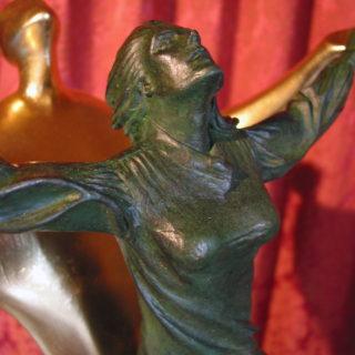 """Skulptur """"Ein Licht aus Liebe"""""""