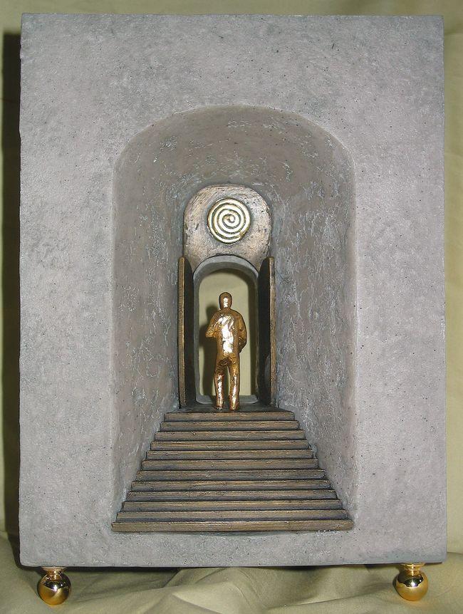 Esoterik: Skulptur Himmelstor