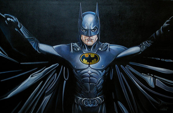 "Gemälde ""Batman"""