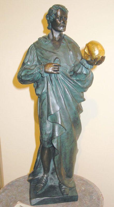 Skulptur Hamlet