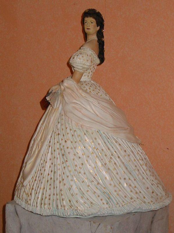 Skulptur Kaiserin Elisabeth /
