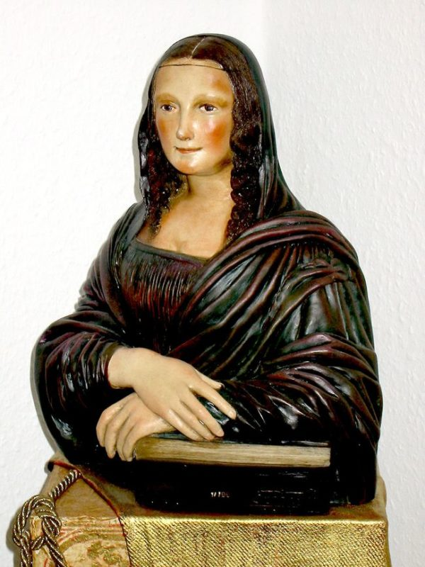 Skulptur Mona Lisa