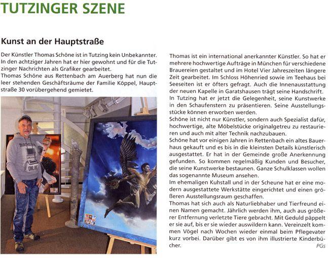 Bericht Tutzinger Nachrichten
