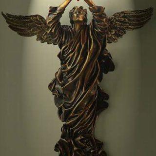 """Esoterik: Skulptur """"Das verlorene Herz"""""""
