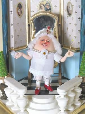Eierkunst: Des Kaiser neue Kleider