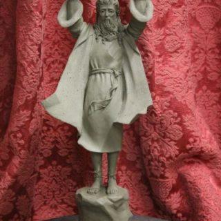 """Ideen-fuer-neue-skulpturen: """"Moses"""""""