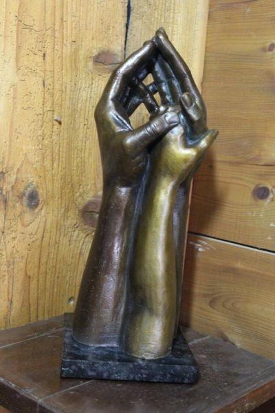 Skulptur Familienbande