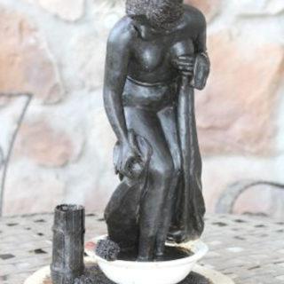 """Ideen-fuer-neue-skulpturen: Skulptur """"Die Badende"""""""