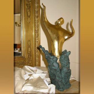 """Esoterik: Skulptur """"Die Wandlung"""""""