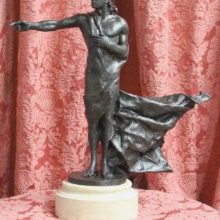 "Ideen-fuer-neue-skulpturen: Skulptur ""Der Wegweiser"""