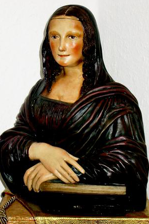 Mona Lisa in 3 D