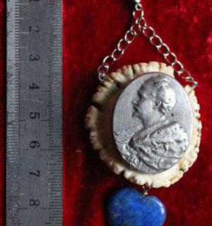 Schmuck: Medallion vom König Ludwig II