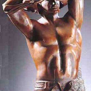 """Mythologie: Skulptur """"Adonis"""""""