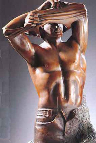 Skulptur Adonis