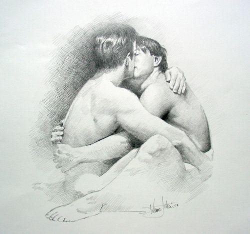 Kuss Bleistift