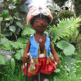 Der kleine Aladin aus Filz