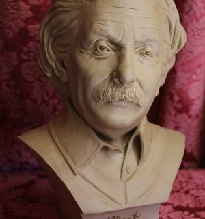 Albert Einstein als Büste