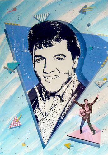 Elvis Presley airbrush