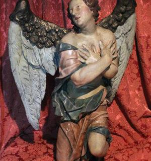 restaurierter Engel