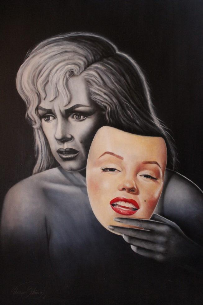 Gemälde Norma Jean