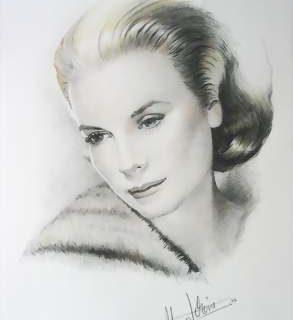 Grace Kelly Mischtechnik