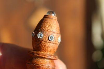 Haarspindel Swarovski klein
