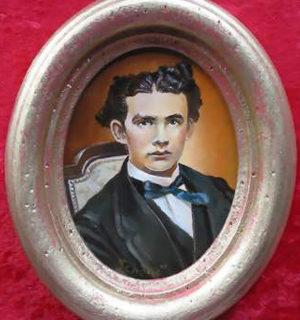 "Miniaturen: Portrait ""König Ludwig II"""