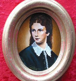 "Miniaturen: Portrait ""Kaiserin Elisabeth"""