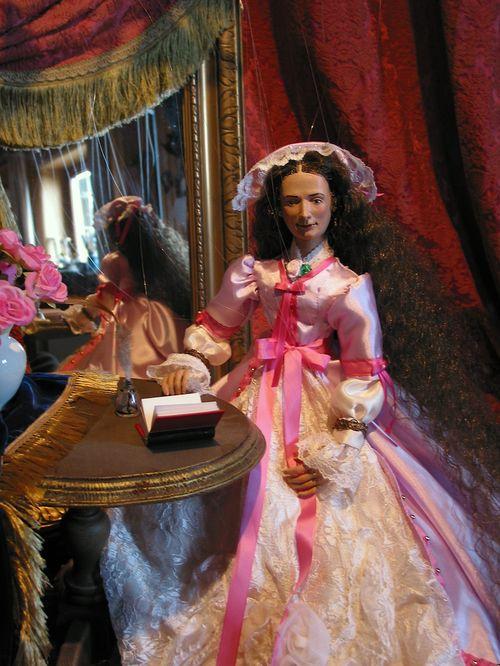 Kaiserin Elisabeth als Marionette