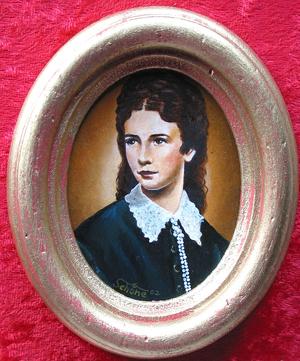 "Portrait ""Kaiserin Elisabeth"""