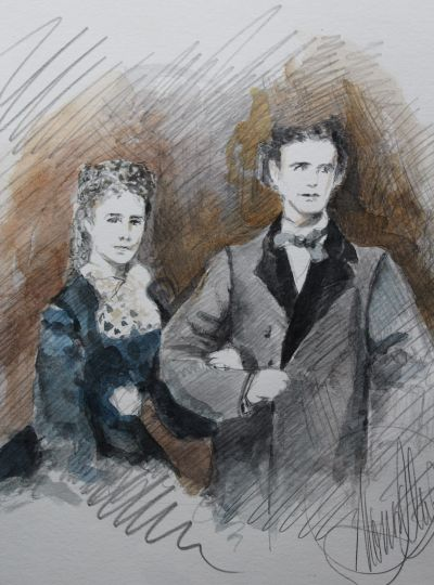 König Ludwig und Kaiserin Elisabeth
