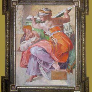 """Michelangelo: """"Libysche Sybille"""""""