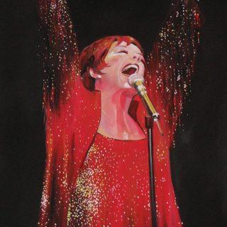 "Kultstars: Gemälde ""Liza Minnelli"""