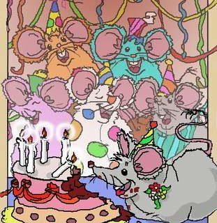 Maus Geburtstagsparty