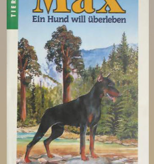 Buchillustrationen: Max ein Hund will ueberleben