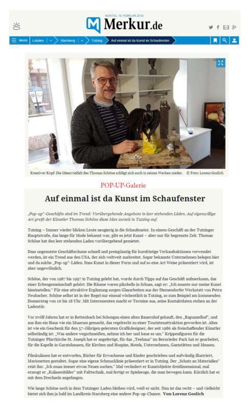 Starnberger Merkur Zeitungsartikel