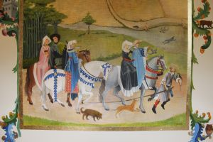 Mittelalterliche Bemalung