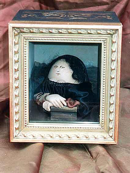 Mona Lisa als Osterei