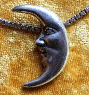 Schmuck: Mond in Silber