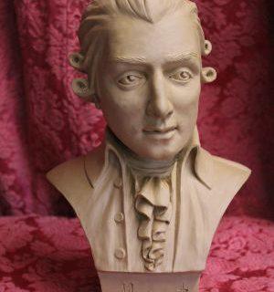 """Persoenlichkeiten: Büste """"Wolfgang Amadeus Mozart"""""""