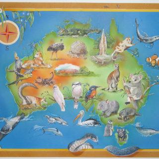 Puzzle Australien