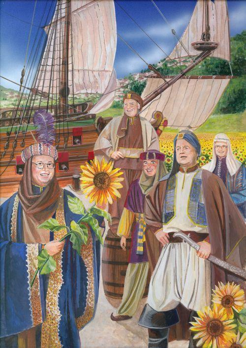 Märchenhafte Buchillustrationen