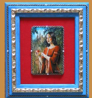 """Miniaturen: Portrait """"Schneewittchen"""""""