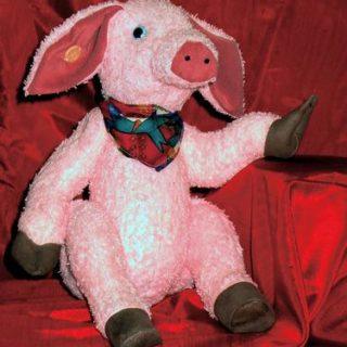 Stofftiere-plueschtiere: Schwein